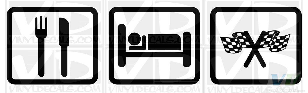 eat sleep race logo - photo #25