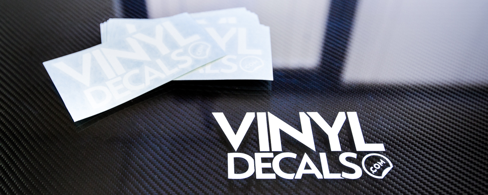Custom Vinyl Lettering And Die Cut Vinyl Decal And Stickers - Custom vinyl stickers logo